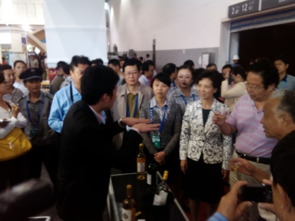 Salons Vins Chine