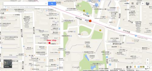 beer stop Map guangzhou
